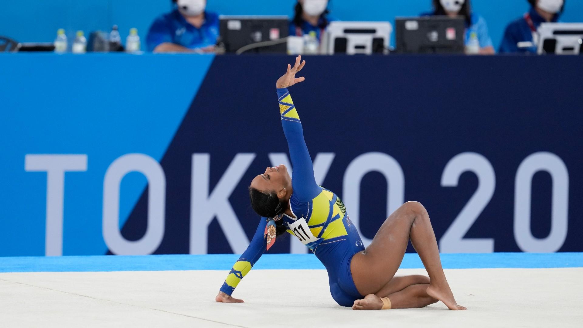 Entenda por que ginastas mulheres competem com música no solo, mas homens não